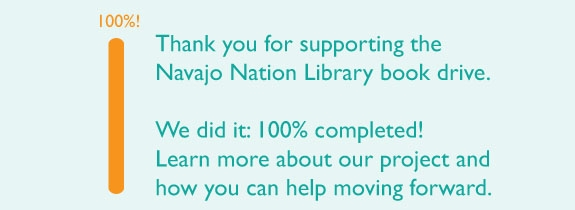 Reader to Reader Reaches 100,000 Book Goal for Navajo Nation
